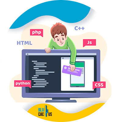 BluCactus - Marketing digital para Programadores de software - Persona profesional trabajando