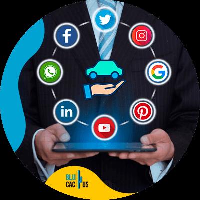 BluCactus -seguros de autos pueden ofrecer sus servicios en las redes sociales - persona profesional