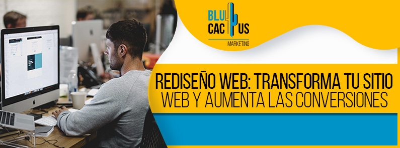 BluCactus - Rediseño web - titulo