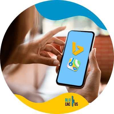 BluCactus - celular con información importante