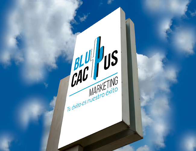 Blucactus - Que es un totem publicitario - Presencia
