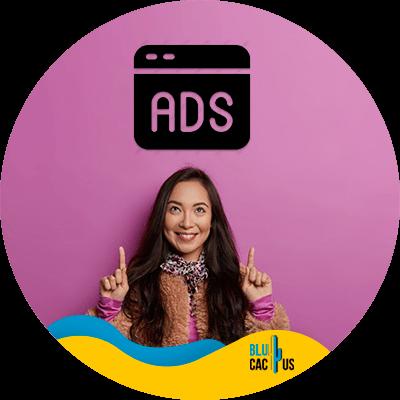 BluCactus - hosting para bloggers - Ads
