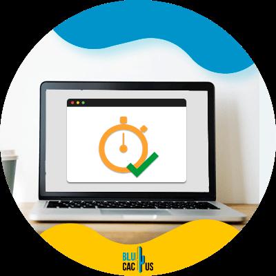 BluCactus - hosting para bloggers - tiempo