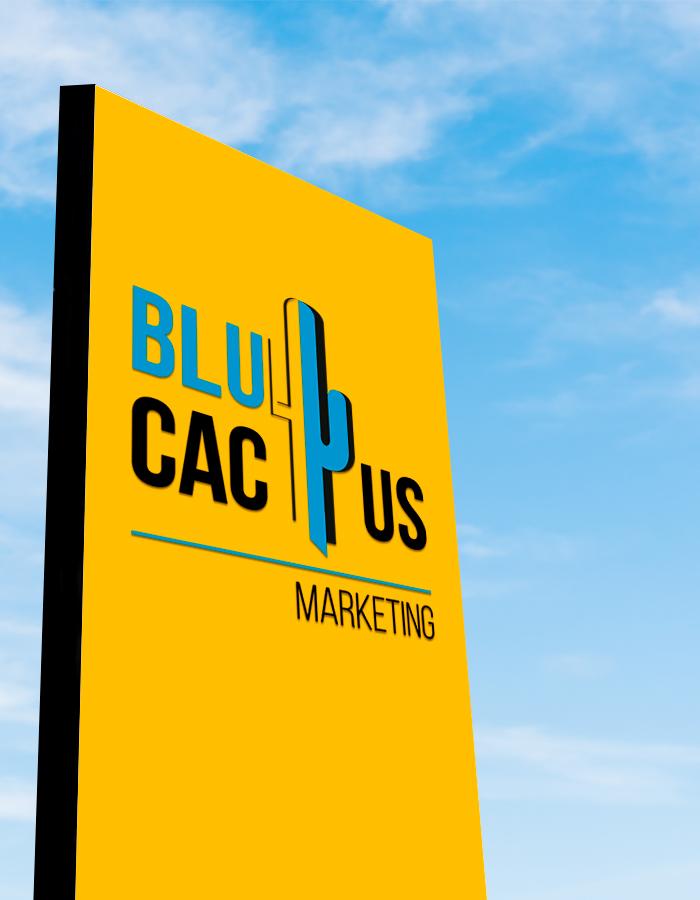 Blucactus - Que materiales pueden ser utilizados para la construccion de totems publicitarios