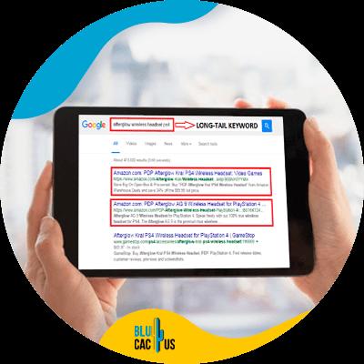 BluCactus - SEO para ecommerce - informacion importante
