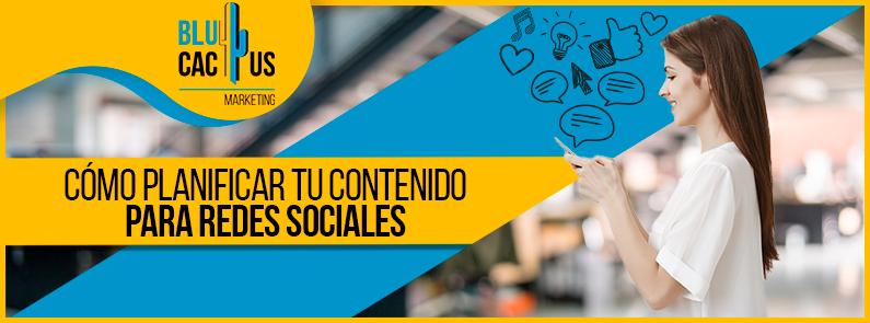BluCactus - ¿Cómo planificar tu contenido para redes sociales? - titulo