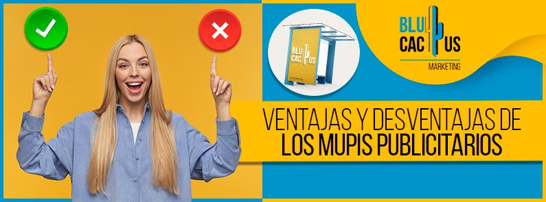 BluCactus - Ventajas y desventajas de los mupis publicitarios - title