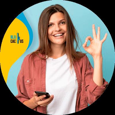 Blucactus-1-Ofrece una excelente experiencia al cliente - Las 19 Mejores Estrategias de Retención de Clientes para Emprendedores Digitales