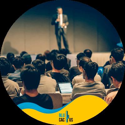 Blucactus - Asiste a eventos y conferencias de SEO