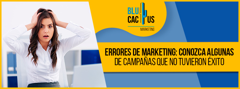 BluCactus - Errores de marketing - titulo