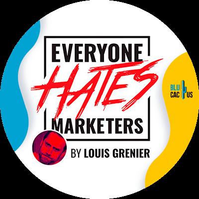 Blucactus - everyone hates marketers