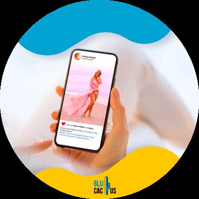 BluCactus - cuenta de estilo de vida y de moda en Instagram - important data