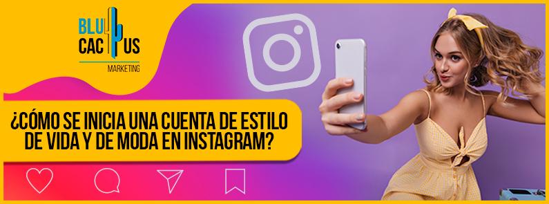 BluCactus - cuenta de estilo de vida y de moda en Instagram - banner