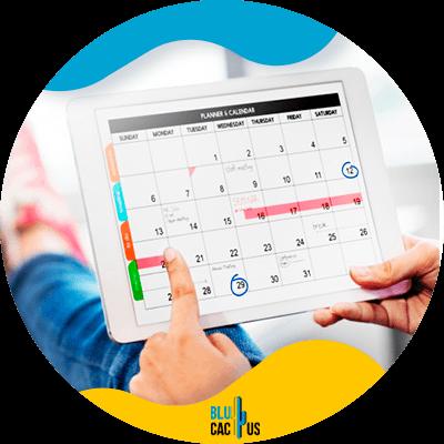 Blucactus - Ten un calendario de contenido - Guía de Facebook Marketing para negocios de Moda