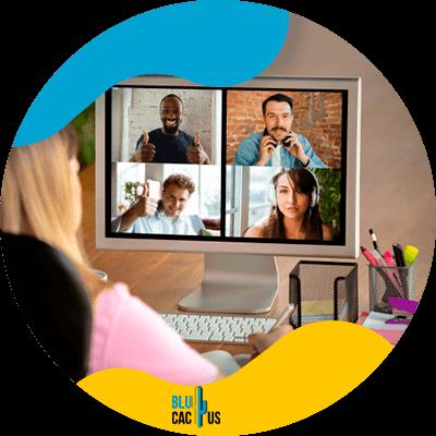 BluCactus - equipo de marketing - persona trabajando