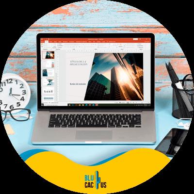 BluCactus - marcar con agua PowerPoint